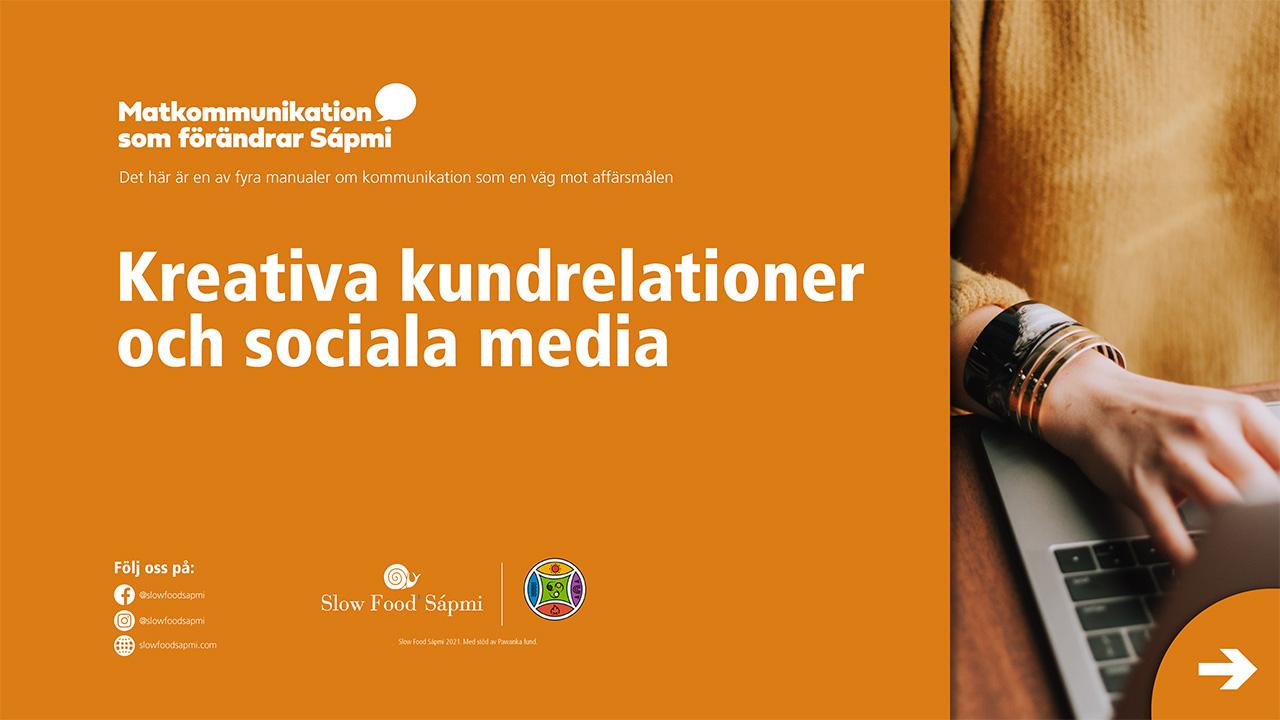 Kreativa kundrelationer och sociala media